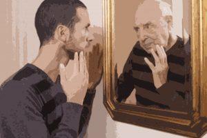I processi d'invecchiamento dell'apparato riproduttivo maschile.