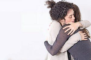 A volte la consulenza si risolve in un abbraccio.
