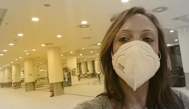 Chiara Granato in Aeroporto