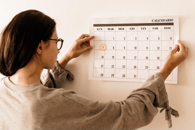 Monitoraggio dei cicli mestruali